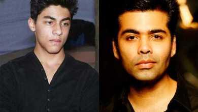 Karan johar wants to launch sharukh's son