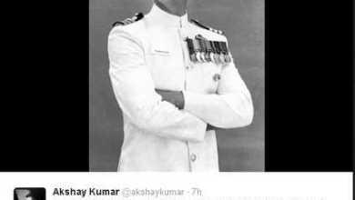अक्षय कुमार ने दिखाई 'रुस्तम' की पहली झलक!