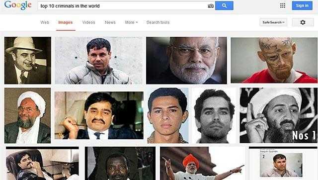 पीएम मोदी को टॉप 10 क्रिमिनल लिस्ट में दिखाने पर गूगल को नोटिस जारी