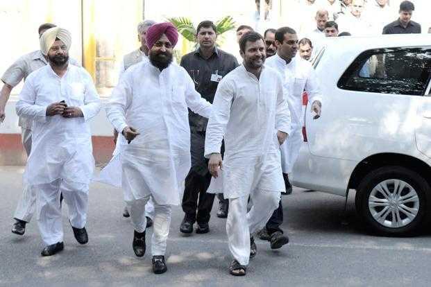 पंजाब चुनाव की रणनी-ति के लिए कांग्रेस की बैठक