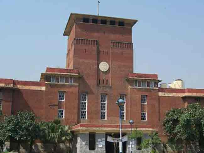 दिल्ली विश्वविद्यालय में एक बार दाखिले शुरू