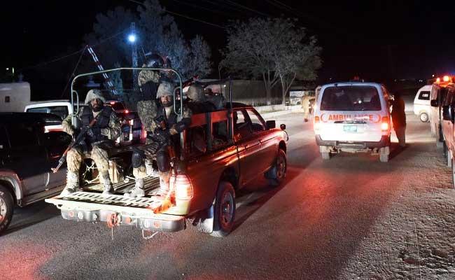 पाकिस्तान के पुलिस ट्रेनिंग सेंटर पर आंतकी हमला