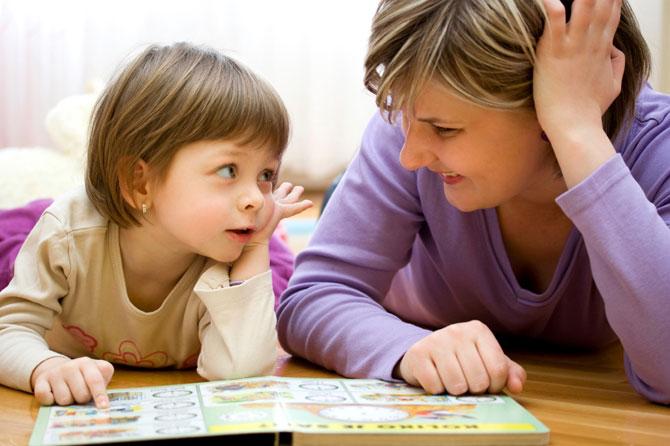 अपने बच्चों से सही ढंग से बात