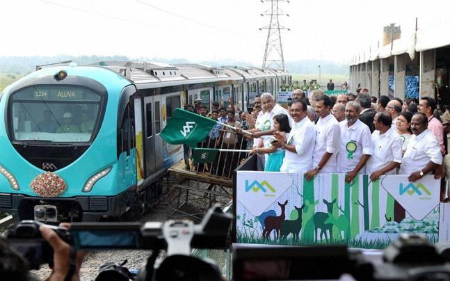 कोच्चि में मेट्रो