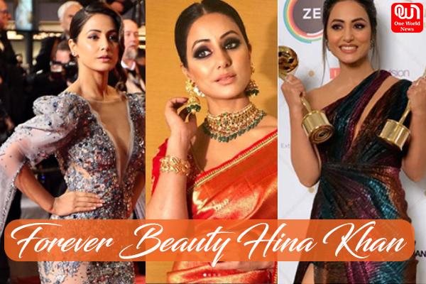 forever beauty Hina khan
