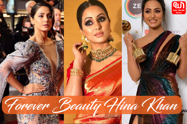 forever beauty Hina khan