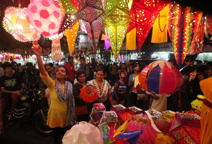 diwali shopping in delhi