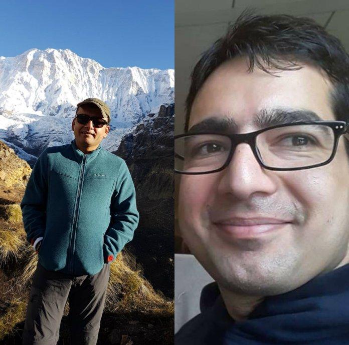 अभिनव कुमार और शाह फैसल