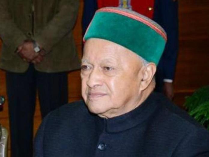 पूर्व मुख्यमंत्री वीरभद्र सिंह