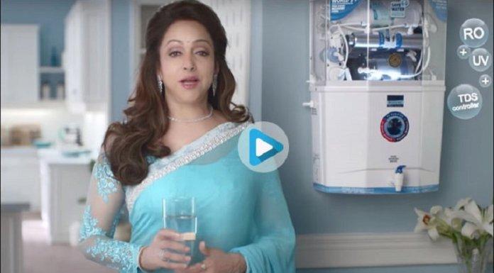 रालोद ने हेमा मालिनी के केंट आरओ विज्ञापन रोकने की रखी मांग