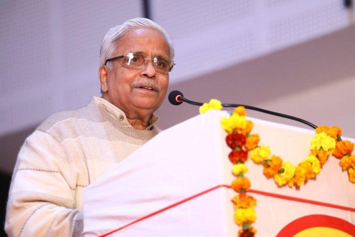 RSS के सरकार्यवाहक भैय्या जी जोशी