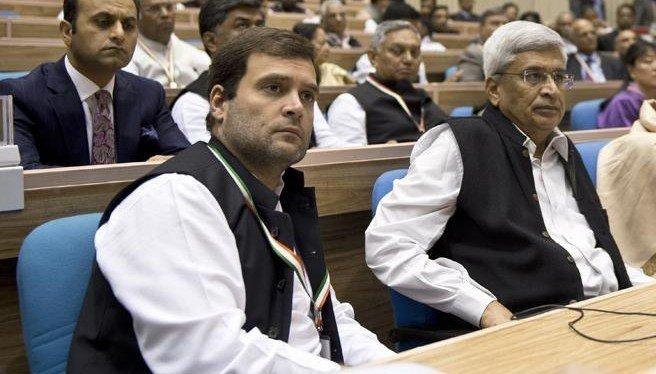 राहुल गाँधी और प्रकाश करात