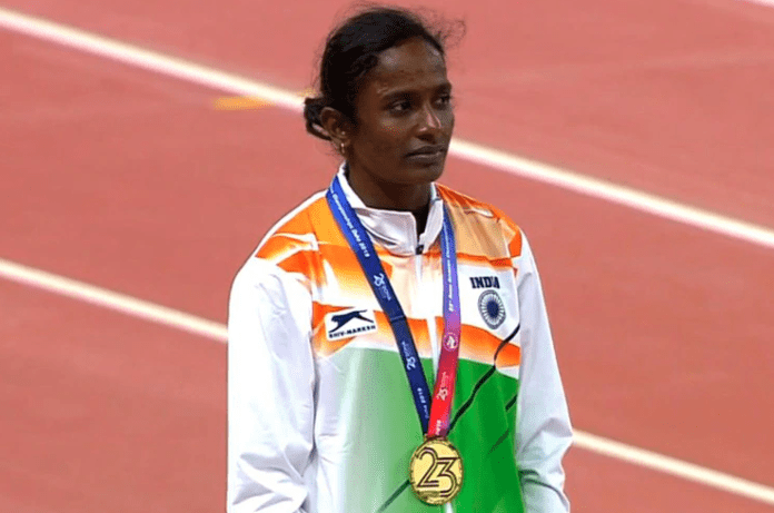 भारतीय धाविका गोमती मारीमुथु