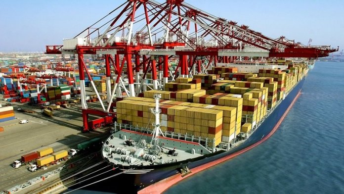 निर्यात के आँकड़े