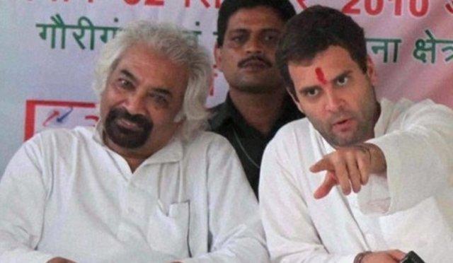 राहुल गाँधी, सैम पित्रोदा