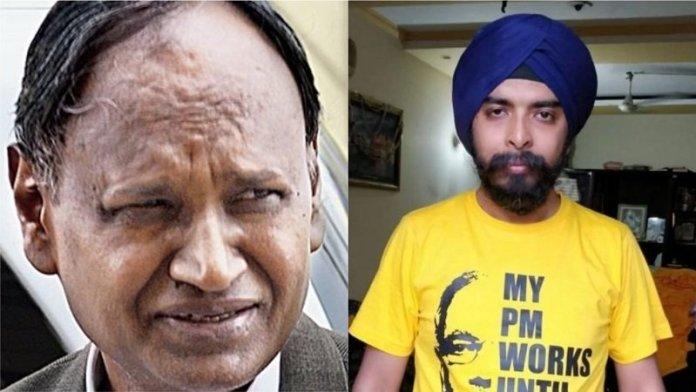 तजिंदर पाल सिंह बग्गा और उदित राज में ट्विटर पर नोंक-झोंक