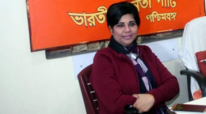बीजेपी उम्मीदवार भारती घोष