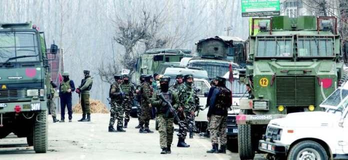भारतीय सेना, कश्मीर
