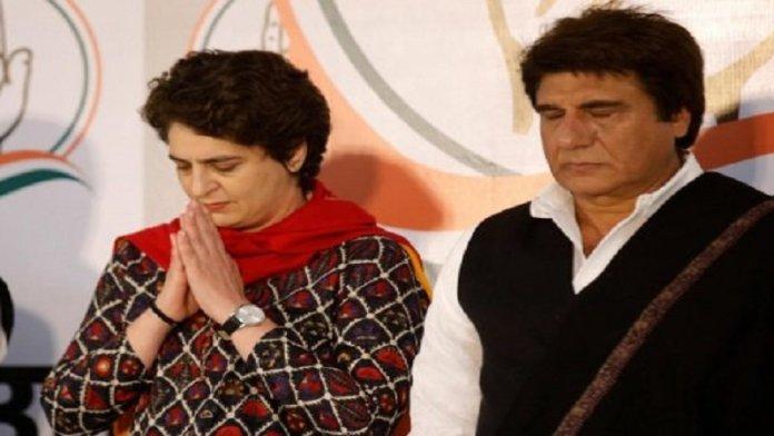 राज बब्बर, प्रियंका गाँधी