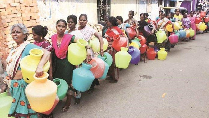 चेन्नई में जल-संकट