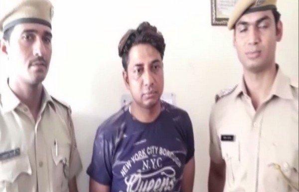मुस्लिम युवक गिरफ्तार