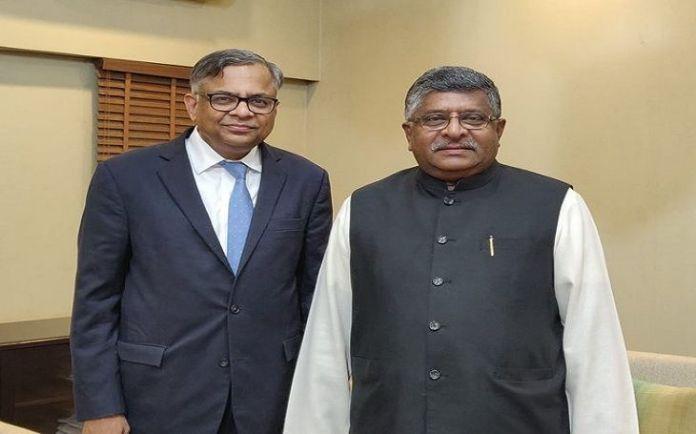 एन. चंद्रशेखरन-मंत्री रविशंकर प्रसाद