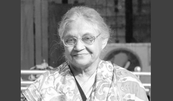 स्मृति शेष: शीला दीक्षित, दिल्ली