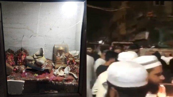 दिल्ली मंदिर तोड़फोड़