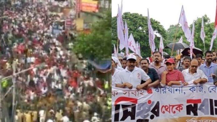 बंगाल में हिंसा