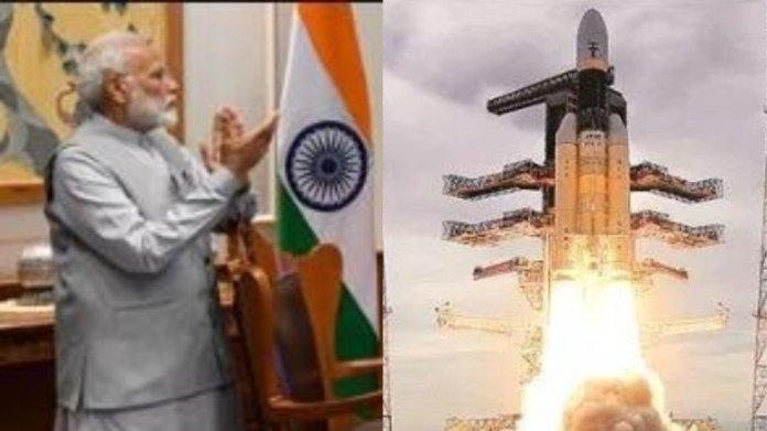 चंद्रयान 2, प्रधानमंत्री मोदी