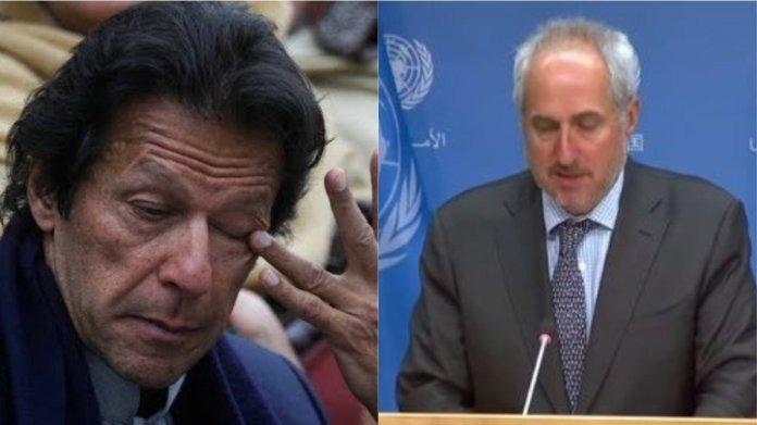 कश्मीर मामला, यूएन, पाकिस्तान