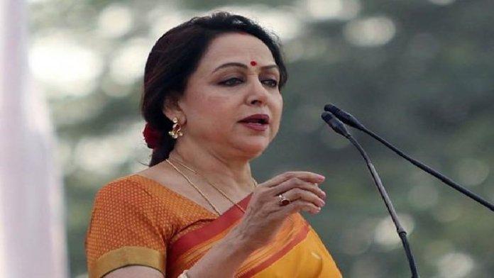 हेमा मालिनी, पीसी शर्मा