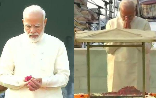 प्रधानमंत्री नरेंद्र मोदी, महात्मा गाँधी, लाल बहादुर शास्त्री