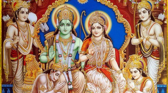 भगवान राम, लक्षमण, सीता, हनुमान और भरत-शत्रुघ्न