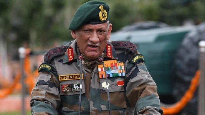 जनरल रावत, पाकिस्तान