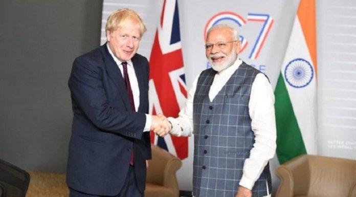 PM मोदी, बोरिस जॉनसन