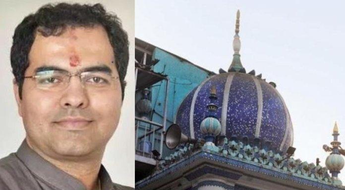 भाजपा सांसद प्रवेश वर्मा, दिल्ली अवैध मस्जिद