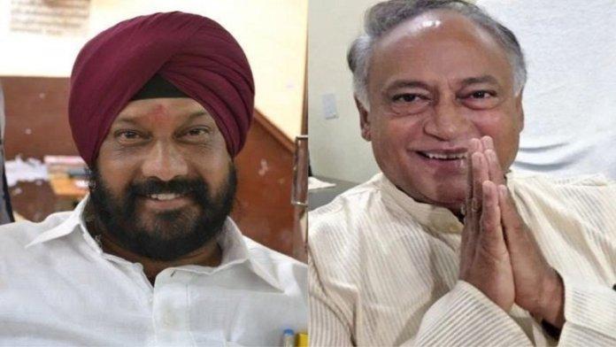 विधायक हरदीप सिंह डांग और लक्ष्मण सिंह