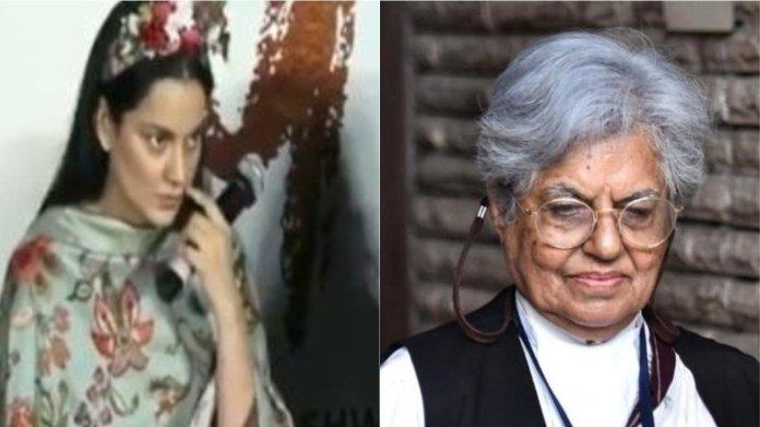 कंगना रनौत, इंदिरा जय सिंह