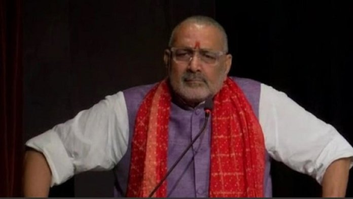 केन्द्रीय मंत्री गिरिराज सिंह ने कहा कि देवबंद आतंकियों की गंगोत्री है