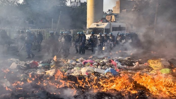 दिल्ली दंगा व्हाट्सअप चैट
