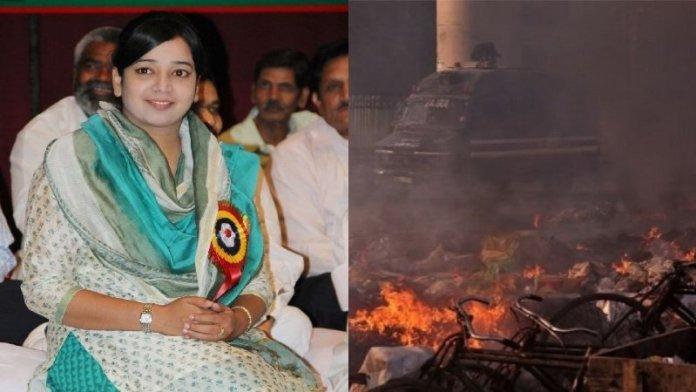 दिल्ली दंगा, कॉन्ग्रेस