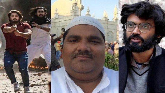 शरजील इमाम, ताहिर हुसैन,