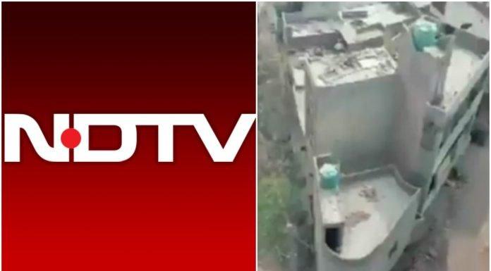 NDTV के ओछे कारनामे