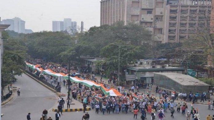 दिल्ली दंगा, पीस मार्च