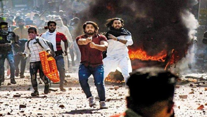 दिल्ली दंगा, शाहरुख