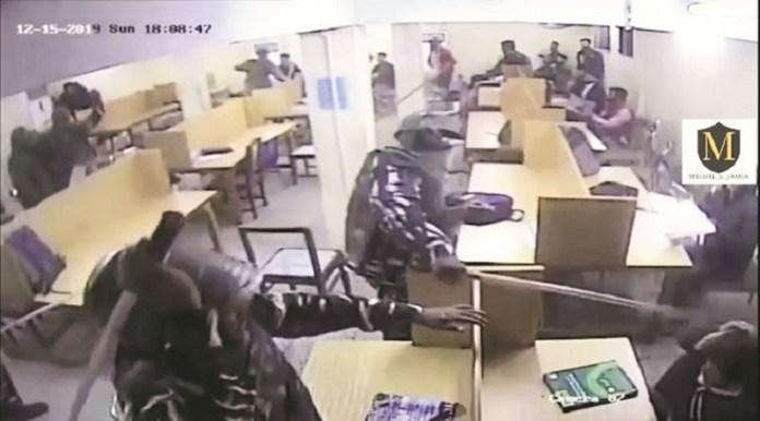 जामिया लाइब्रेरी हिंसा