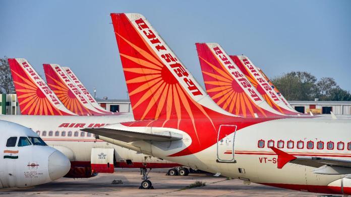 कोरोना वायरस, एयर इंडिया
