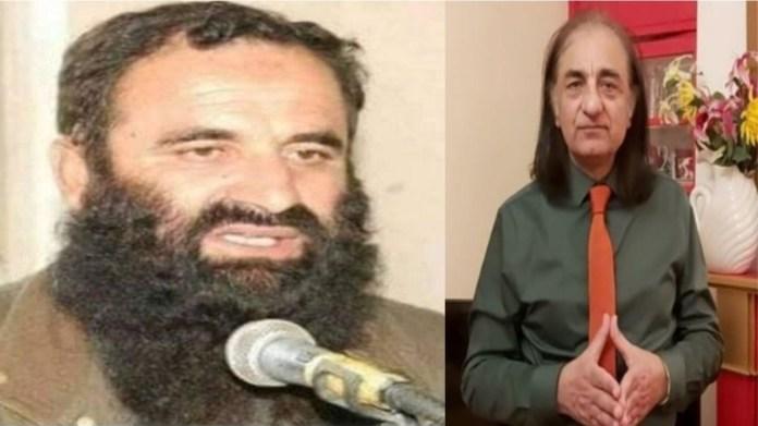 POK JUD सदस्य समीर बुखारी और पाकिस्तानी लेखक अमजद अयूब मिर्जा
