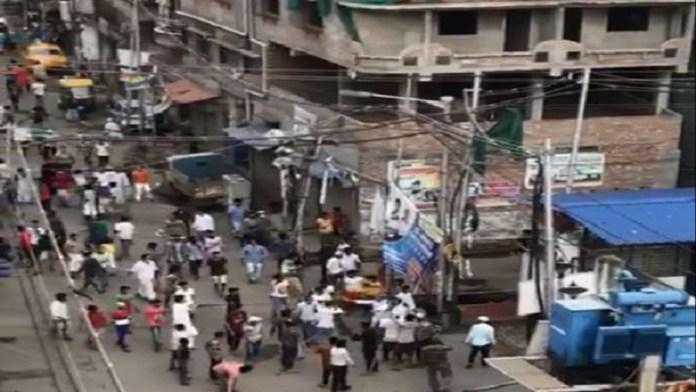 हावड़ा लॉकडाउन पुलिस हमला